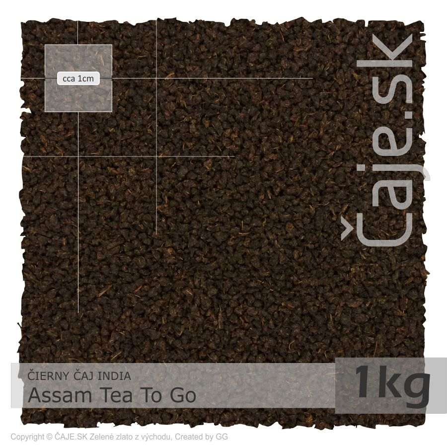 ČIERNY ČAJ INDIA – Assam Tea To Go (1kg)