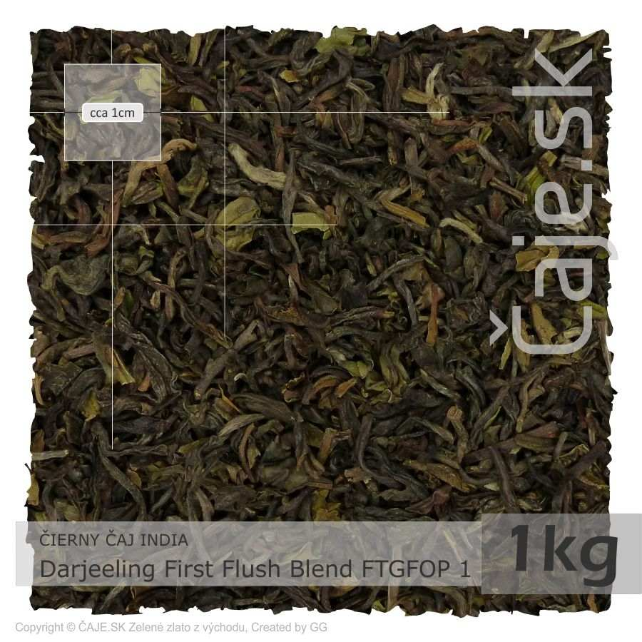 ČIERNY ČAJ INDIA – Darjeeling First Flush Blend FTGFOP 1 (1kg)