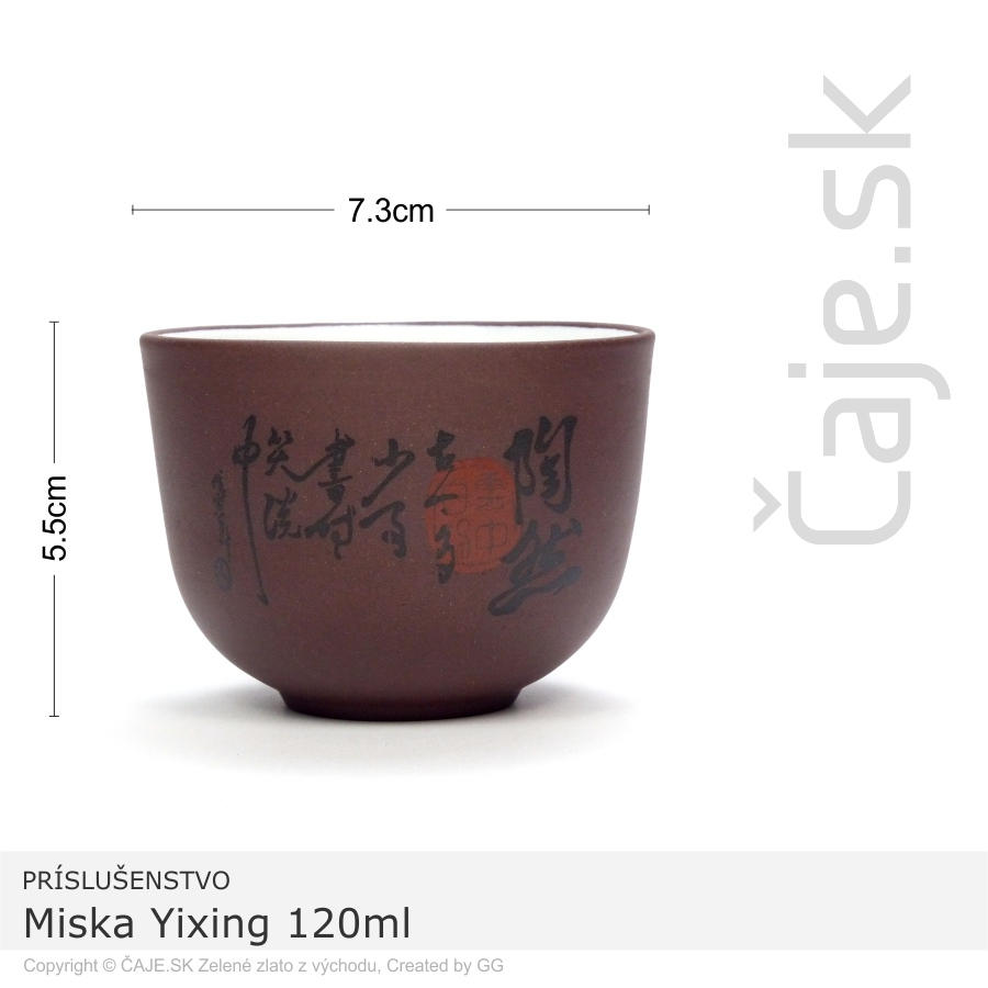 Miska Yixing 120ml