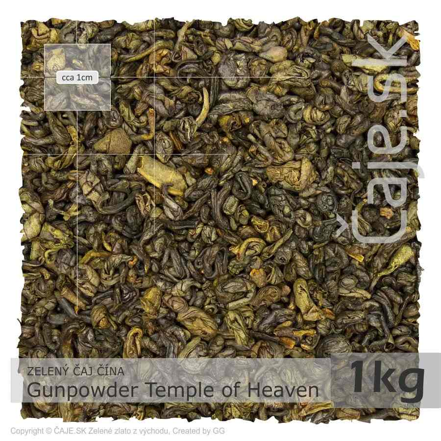 ZELENÝ ČAJ ČÍNA – Gunpowder Temple of Heaven (1kg)