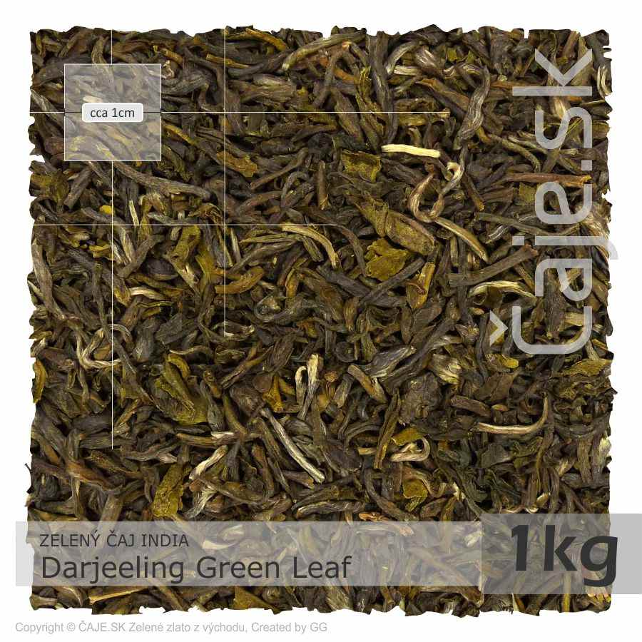 ZELENÝ ČAJ INDIA – Darjeeling Green Leaf (1kg)