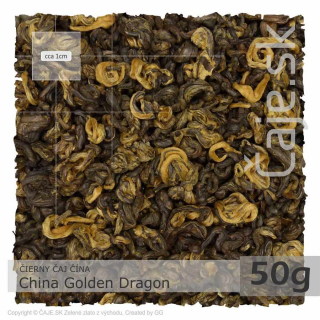 ČIERNY ČAJ ČÍNA – China Golden Dragon (50g)