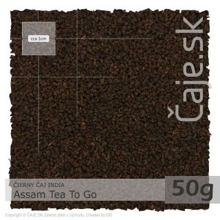 ČIERNY ČAJ INDIA – Assam Tea To Go (50g)