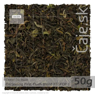 ČIERNY ČAJ INDIA – Darjeeling First Flush Blend FTGFOP 1 (50g)