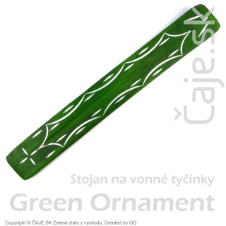 Stojan na tyčinky – Color Green Ornament